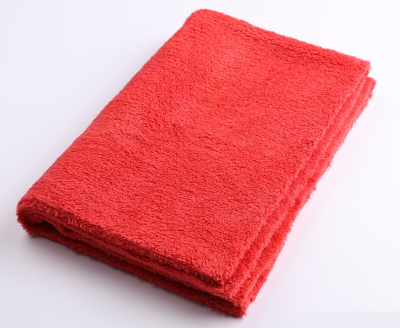 Микрофибра без оверлока SGCB Edgeless Monster Towel 40*60см 500 г/м2 красная