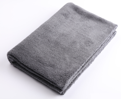 Микрофибра без оверлока SGCB Edgeless Monster Towel 40*60см 500 г/м2 серая