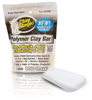 Чистящая глина Auto Magic Polimer Clay Bar, 200гр